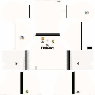 real madrid dls kit 2019 local