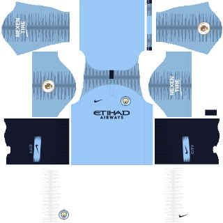 Manchester City dls kit home 2019
