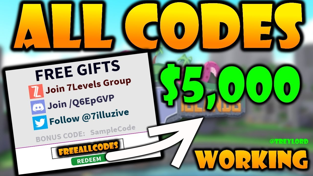 cursed islands codes roblox september 2020