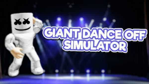 giant dance off simulator 2 codes roblox september 2020