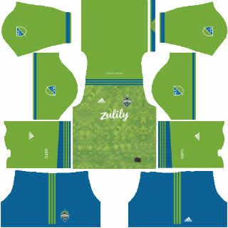 seattle sounders home kit dls 2019