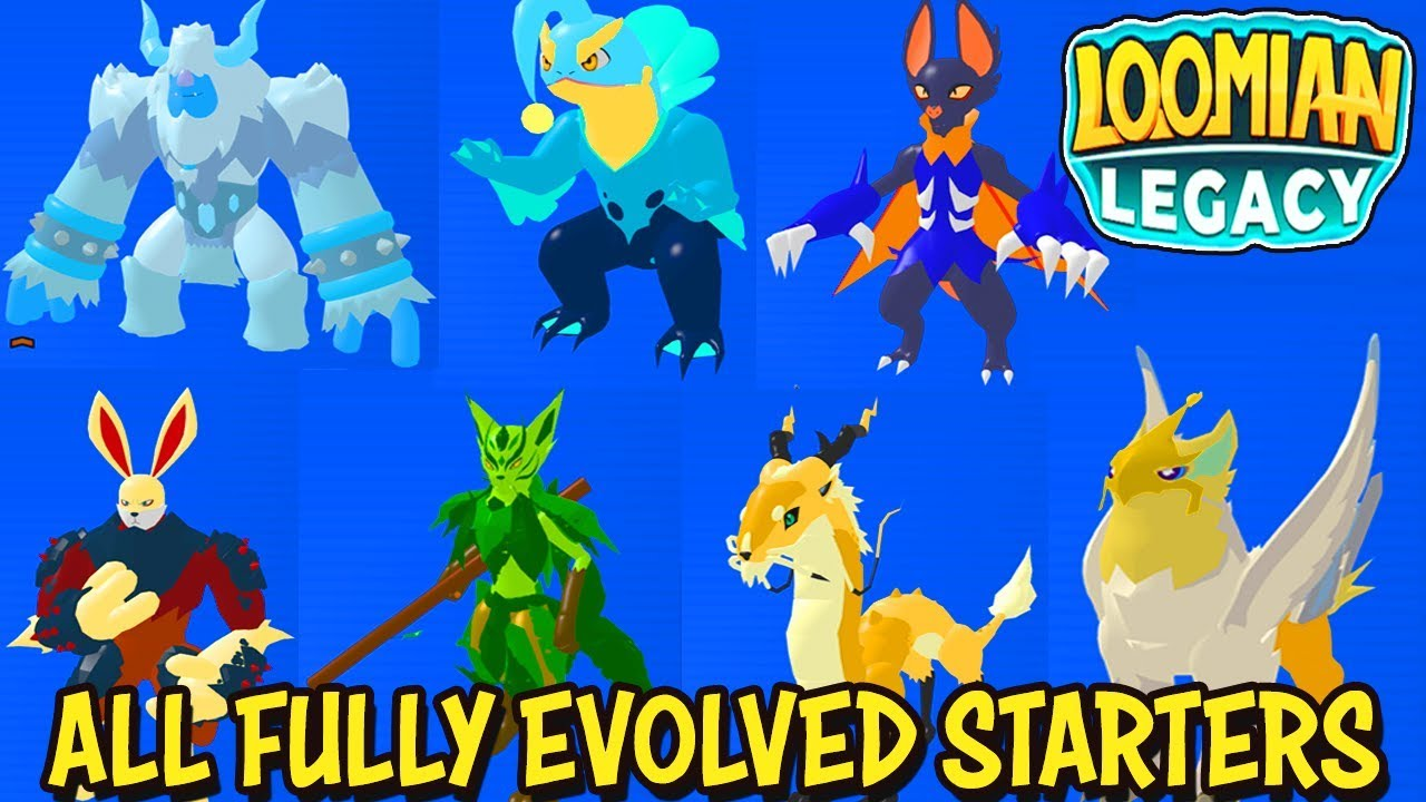 loomian legacy evolutions guide