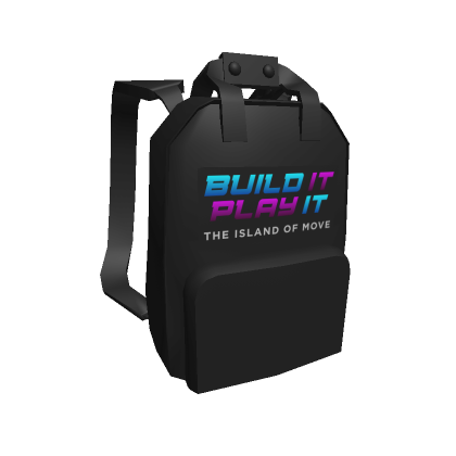 Roblox Build it Backpack